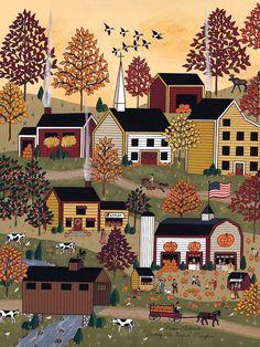 Tole Painting, Painting & Drawing, Pintura Tole, Illustrations, Illustration Art, Primitive Folk Art, Primitive Stitchery, Primitive Patterns, Primitive Snowmen