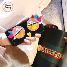 >> Click to Buy << From Jenny rivet PU Phone Case for Apple iPhone 7 7plus 6 6s Plus Lovely Girl Female Fundas New Style Korean Covers #Affiliate