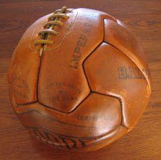 Balón de baloncesto Fabara (España) 1930. (Colección particular Pablo Gines)
