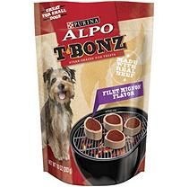 Alpo T-Bonz Steak-Shaped Dog Treats, Filet Mignon (10 oz., 6 pk.)