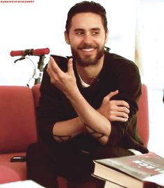 jared leto . You killing me with that face