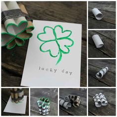 Toilet Paper Roll Stamp | 30 Adorable And Unexpected DIY Stamp Projects