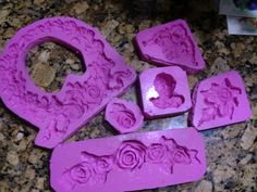 Make Your Own Furniture Appliques: Part 1 Mold Making Home Crafts, Diy And Crafts, Arts And Crafts, Diy Furniture Appliques, Wood Appliques, Make Your Own, Make It Yourself, Decorative Mouldings, Paperclay
