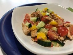 Cobb Salad, Delish, Sausage, Turkey, Meat, Chicken, Food, Red Peppers, Turkey Country
