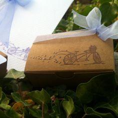 Mon faire part est unique - boîte à dragées - cadeau invités - mariage