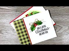 Paper Pumpkin October 2017 Alternate 2 | Christmas Cards Alternative - YouTube
