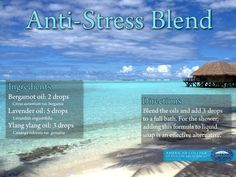 Anxious or Feeling Down: Can Essential Oils Help?/ Anti-Stress Aromatherapy Blend /