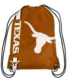 Forever Collectibles Texas Longhorns Big Logo Drawstring Bag - Orange Texas  Longhorns Logo, Orange Bag 171f2af264