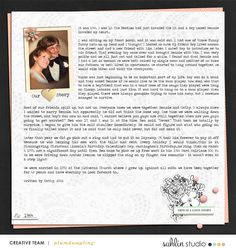 digital scrapbooking layout created by plumdumpling featuring Me & You by Sahlin Studio