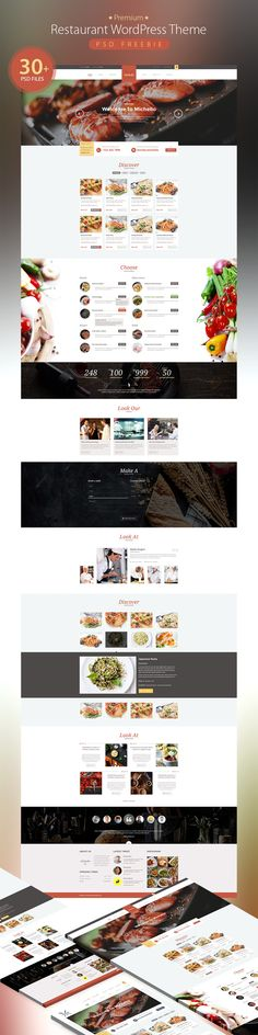 <p>Download PremiumRestaurant WordPress Theme PSD Freebie. Freebie contain 30+ Free PSD WordPress restaurant theme  Best for sell food online, takeaway or home delivery Websites. eCommerce pages like shop, cart, checkout are beautifully styled to help you start an online business right away. So download this amazing freebie and start your Restaurant website design Project. Hope you like it. Enjoy! </p>