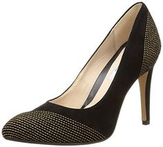 Clarks Always Bright, Damen Pumps, Schwarz (Black Suede), 41 EU - http://on-line-kaufen.de/clarks/41-eu-clarks-always-bright-damen-pumps