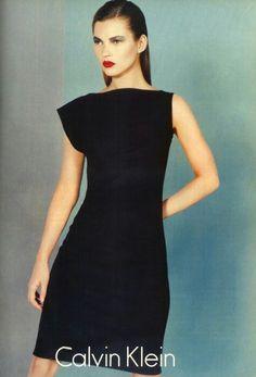 Kate Moss for Calvin Klein, FW 1997