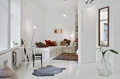 Ruimte witte leefruimte - klein wonen