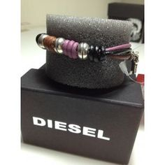 pulsera diesel mujer  www.relojesplatayacero.com
