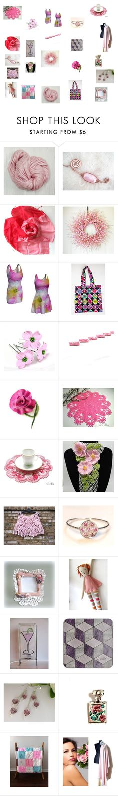 """""""Pink Mauve Gifts for Mums"""" by einder ❤ liked on Polyvore featuring Wild Rose and Chanel"""