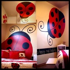 girl room design idea: Search results for Ladybug