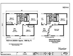 Manorwood Two Story Homes - Hunter - Modular Home Plans, Custom Modular Homes, Custom Home Plans, Custom Homes, Vinyl Flooring Kitchen, Roof Edge, Brushed Nickel Faucet, Architectural Shingles