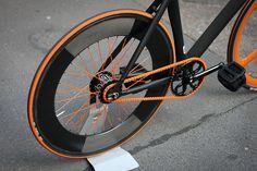 Black & Orange fixie