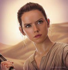Rey fanart, Inspired character from Star Wars. I hope you like it ! Follow me on: facebook : www.facebook.com/avv.alekseivi… instagram: instagram.com/avvart?modal=tru...