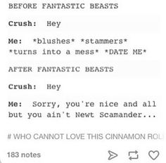 Pfft, I'm not nervous around my crush, I've known him my whole life.