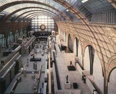 Museo della Gare d'Orsay, recupero ad opera di Gae Aulenti