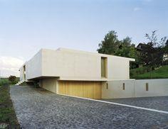 Concrete Architecture, Architecture Design, Modern Exterior, Exterior Design, Zurich, Switzerland House, Paris France, Modern Design Pictures, Modern Tropical House