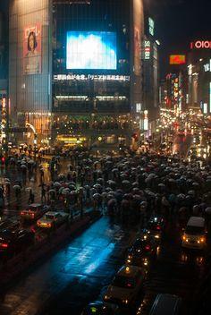 Shibuya crossing, Tokyo, Japan - Shibuya was my favourite place in Tokyo