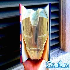Japanese artist Yuto Yamaguchi transforms hardcover books into sculptures by simply folding their pages. Without using scissors, he crafts the bold designs Paper Industry, Dc Comic Books, Yamaguchi, Book Folding, Marvel Art, Japanese Artists, Book Characters, Book Pages, Paper Art
