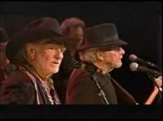 ▶ Willie Nelson and Merle Haggard (with Ray Benson) - Pancho and Lefty - YouTube.  Song by the immortal Townes Van Zandt.