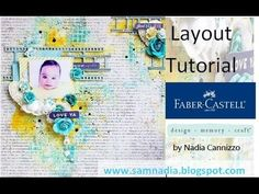 Start to Finish layout tutorial for Faber Castell Design Memory Craft