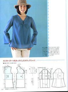 """Revista """"Style"""" japonés 07 con el patrón .. Discusión liveinternet - Servicio de Rusia Diarios Online"""