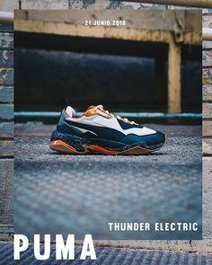 new concept a0952 a9e50 Puma Thunder Electric