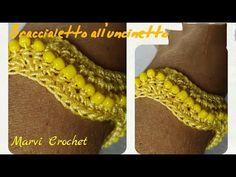 YouTube Crochet Beaded Bracelets, Crochet Earrings, Bijoux Shabby Chic, Pandora Leather Bracelet, Pandora Bracelets, Lace Jewelry, Vintage Jewellery, Antique Jewelry, Crochet Chicken