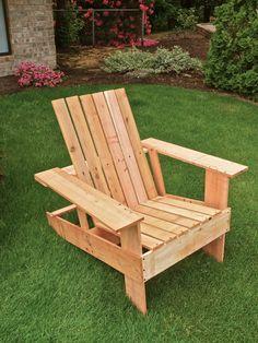 tuto chaise adirondack