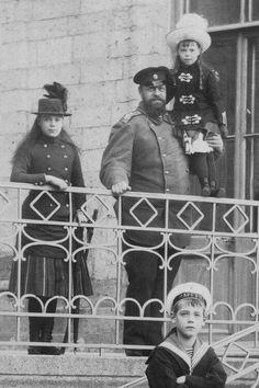 Alexander III and family...