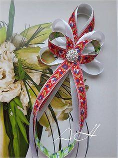 AgiHandmade / svadobné pierko folk stredne Bridal Dresses, Christmas Wreaths, Palm, Weddings, Holiday Decor, Diy, Inspiration, Bride Dresses, Biblical Inspiration