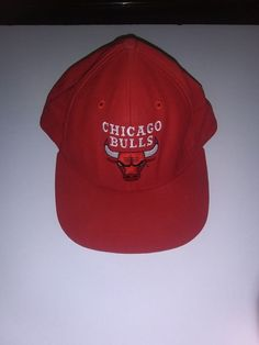 half off c66ff 11ce8 NEW CHICAGO BULLS RED NBA SNAPBACK RETO HAT CAP BY ADIDAS  fashion   clothing