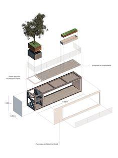 La Tour des Cedres, Losanna, 2015 - Stefano Boeri Architetti