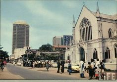 Lagos, Nigeria in the 1960s. Source:NNP
