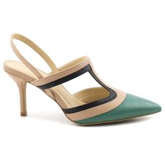 Shoes / calçados Scarpins Scarpin andrea carmim esmeralda/pele - Carmim Store
