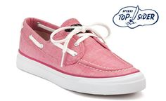 Pink Sperry Top- Siders!