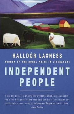 Independent People by Halldor Laxness, finish before Iceland