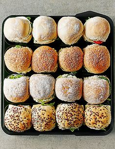 Vegetarian Mini Roll Selection (16 Rolls) | M&S