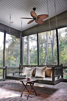 "year round sunroom! Love this sunroom!!! ""want"" for my back porch area!"