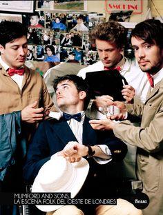 Mumford and Sons, la escena folk del oeste de Londres.