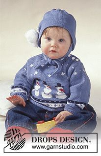 Baby - Free knitting patterns and crochet patterns by DROPS Design