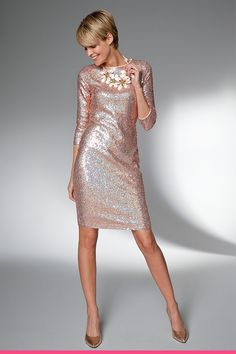 Sequin dress, # Sequin dress - Lilly is Love Casual Chic Outfits, Fall Outfits For Work, Spring Outfits, Venus Clothing, Date Night Fashion, Cute Christmas Outfits, Jumpsuit Outfit, Fashion Over 40, Sequin Dress