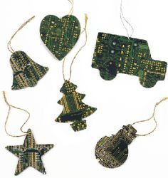 arts and crafts made from computer mother boards - Google Search