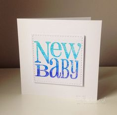 Beth's Little Card Blog: A couple of cards and some news! :-)