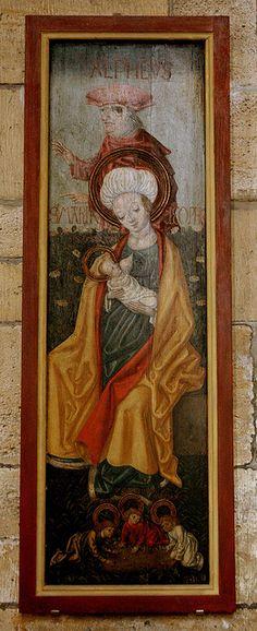 Halberstadt, Sachsen-Anhalt, Dom, Marian painting by groenling, via Flickr